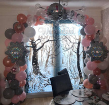 Christmas Organic Balloon Arch
