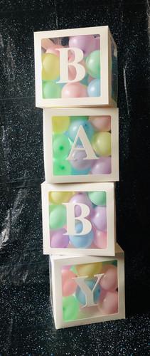 Baby Balloon Boxes