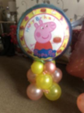Pepa Pig Balloon Gift