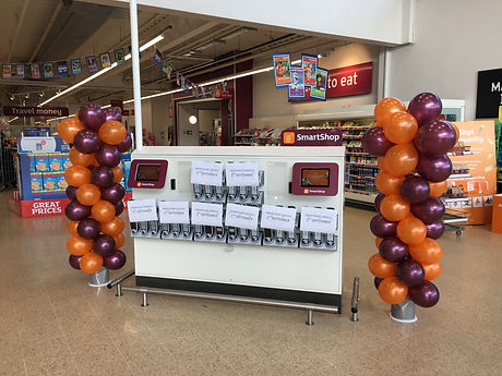 Sainsbury's Self Service Celebrations