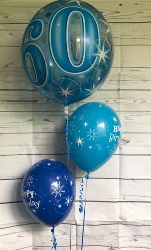 Deco Bubble Balloon Cluster