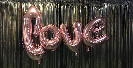 Large Love Balloon