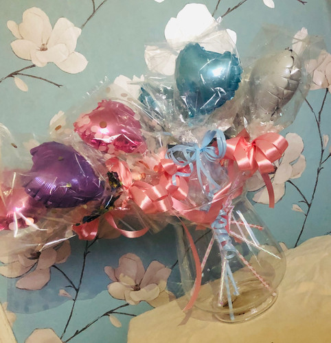 Pink, Blue, Purple, White Party/Wedding Favours
