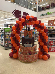 Sainsbury's 150th Anniversary Balloon Arch