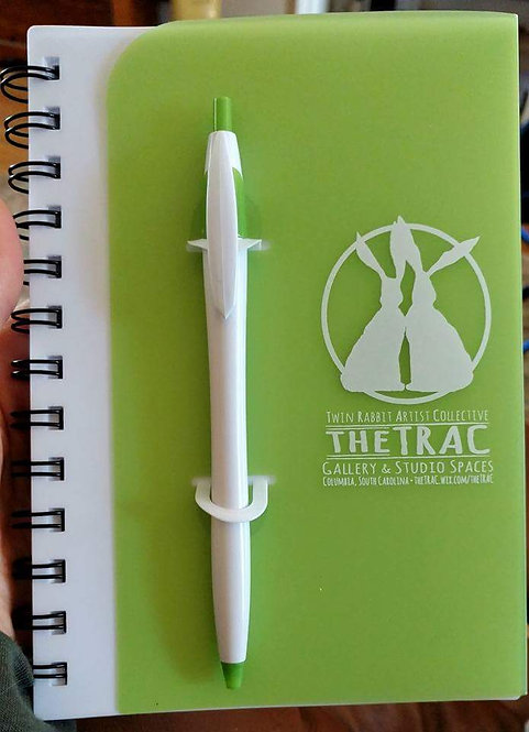 TRAC Lock-In Notebook & Pen Set