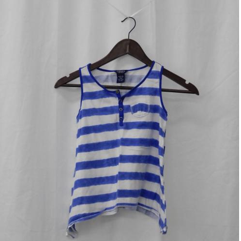Girls Sleeveless Shirt - Size M (10)