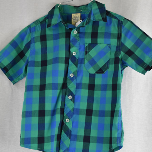 Boys Short Sleeve Shirt Size S