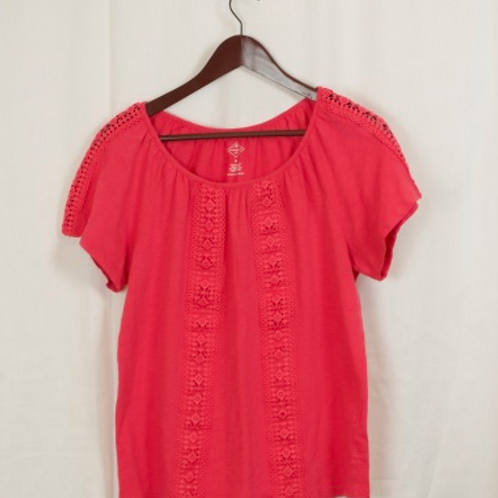 Women's Short Sleeve Shirt, Size M