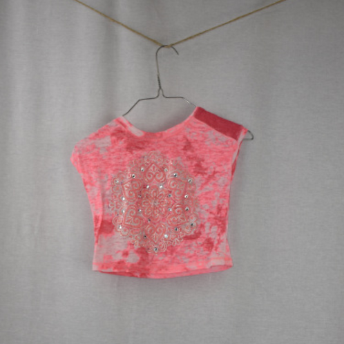Girls Short Sleeve Shirt Size 7