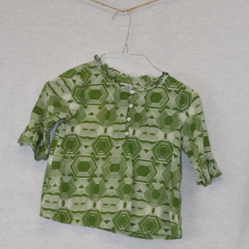 Girls Short Sleeve Shirt, Size S