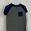 Thumbnail: Boy's Short Sleeve Shirts Size-L