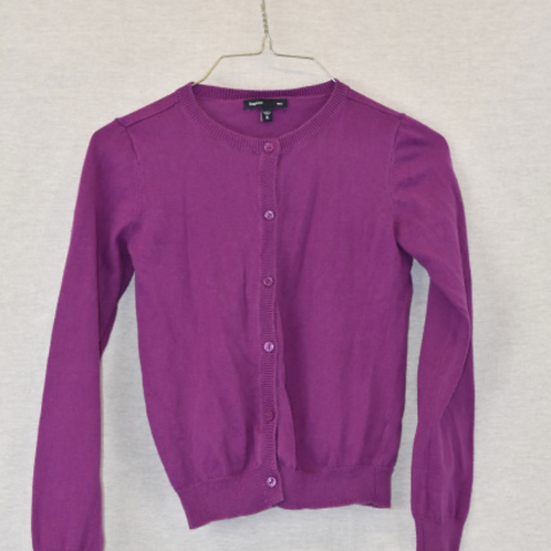 Girls Long Sleeve Shirt, Size M (8)