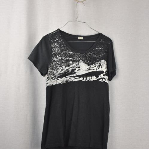 Womens Short Sleeve Shirt Size L