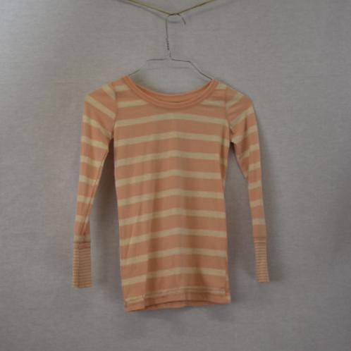 Girls Long Sleeve Shirt, Size M (7/8)