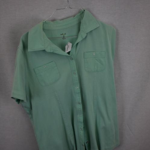 Women's Short Sleeve Shirt, Size 1X