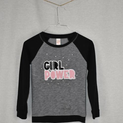 Girls Long Sleeve Shirt - Size M (7/8)