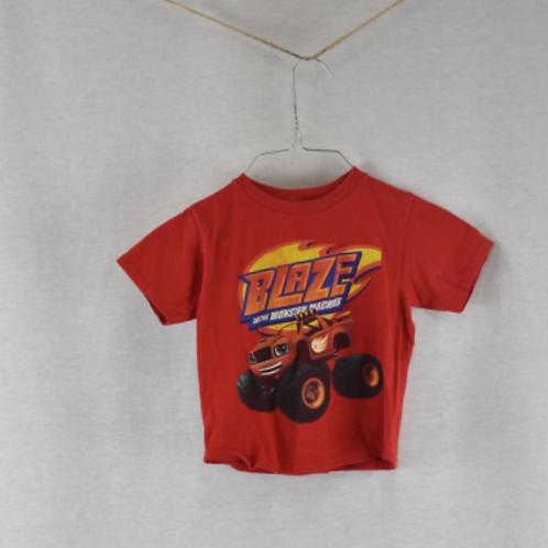 Boys Short Sleeve Shirt Size 4