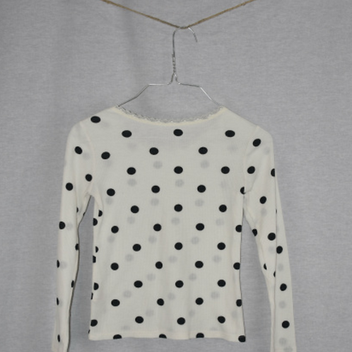 Girls Long Sleeve Shirt - Size M (8)