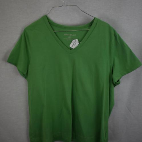 Women's Short Sleeve Shirt, Size XL (Petite)