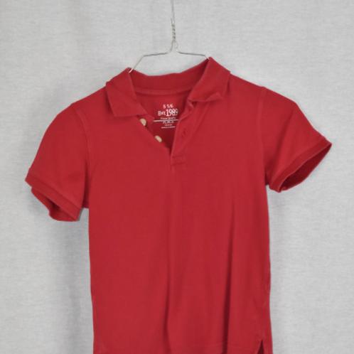 Boys Short Sleeve Shirt, Size S (5/6)
