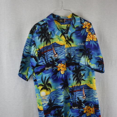 Mens Short Sleeve Shirt Size L