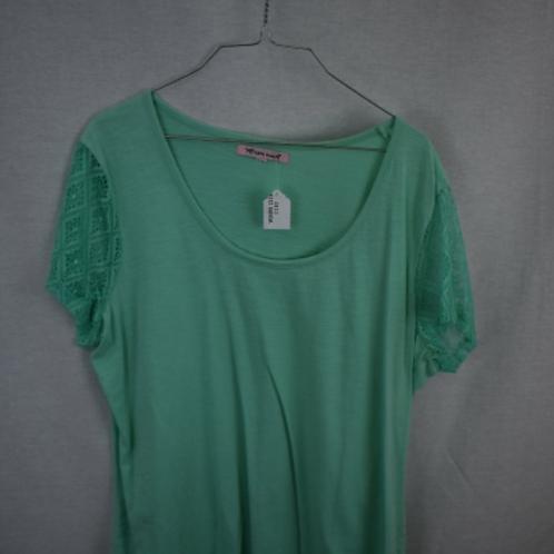 Women's Short Sleeve Shirt, Size L