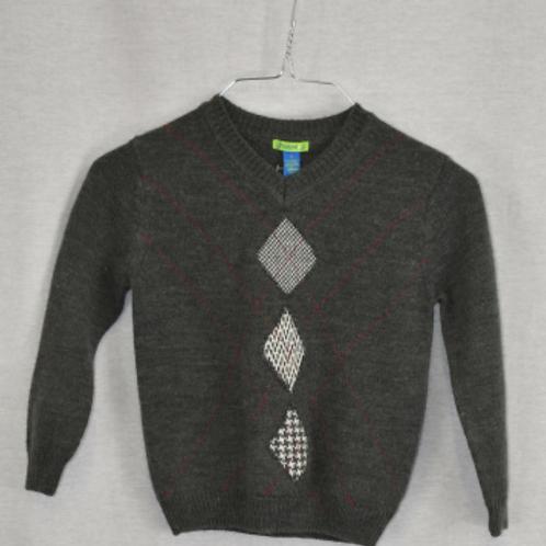Boys Long Sleeve Shirt, Size S (5)
