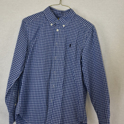 Boys Long Sleeve Shirt, Size L (14-16)