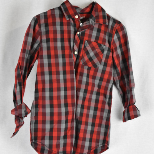 Boys Long Sleeve Shirt Size M