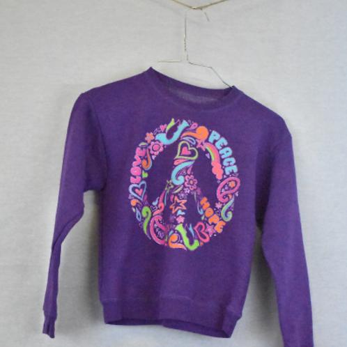 Girls Sweatshirt, Size M