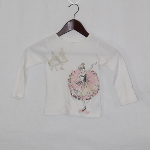 Girls Long Sleeve Shirt - 3T