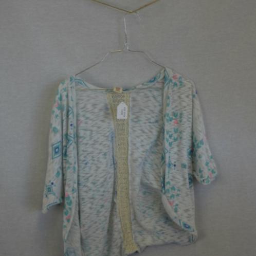 Girls short sleeve Sweater - Size M 10/12