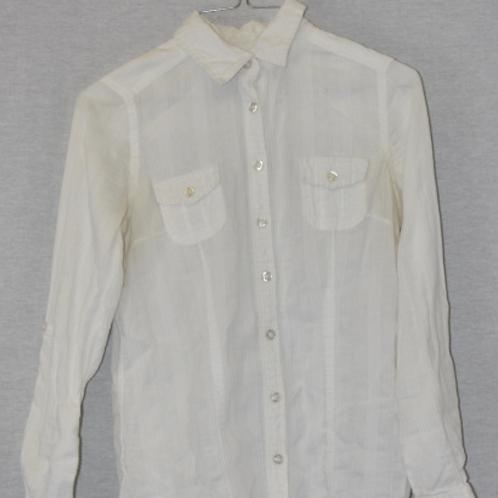Girls Long Sleeve Shirt, Size M