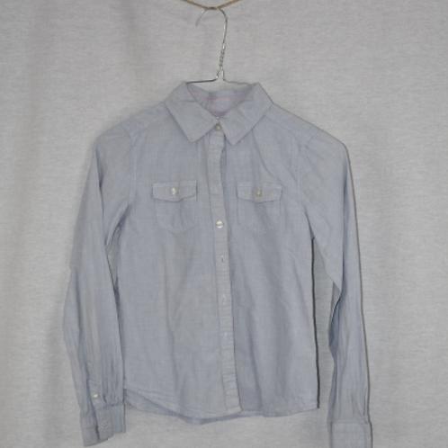 Girls Long Sleeve Shirt - Size L (9-10)