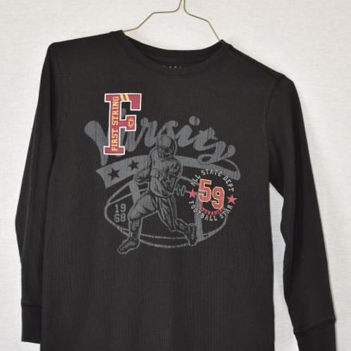 Boys Long Sleeve Shirt, Size L (10/12)