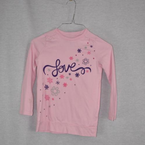 Girls Long Sleeve Shirt - Size S (6)