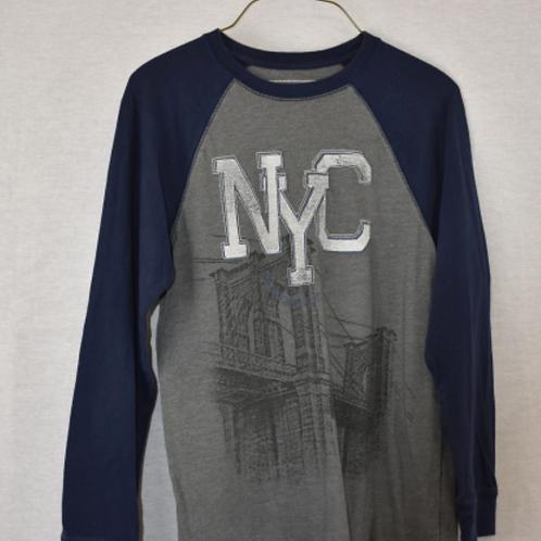 Boys Long Sleeve Shirt, Size L