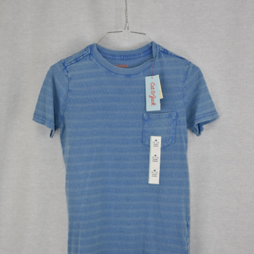 Boys Short Sleeve Shirt, Size M (8/10)
