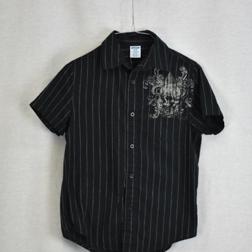 Boys Short Sleeve Shirt, Size M