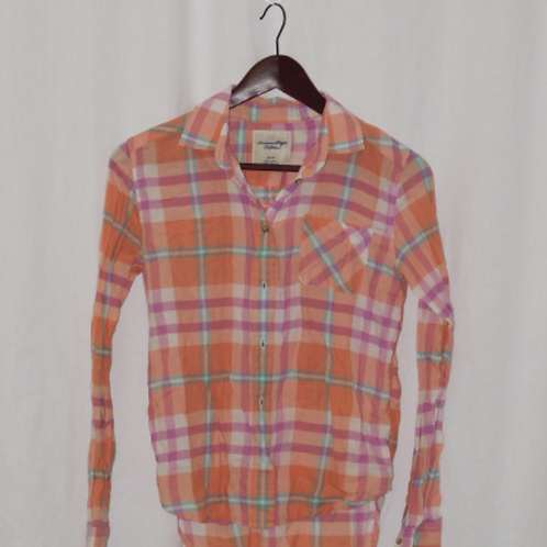 Girls Long Sleeve Shirt, Size XS (Young Adult)