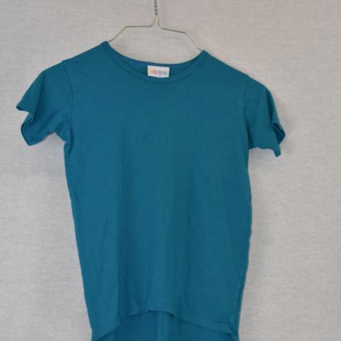 Girls Short Sleeve Shirt, Size M