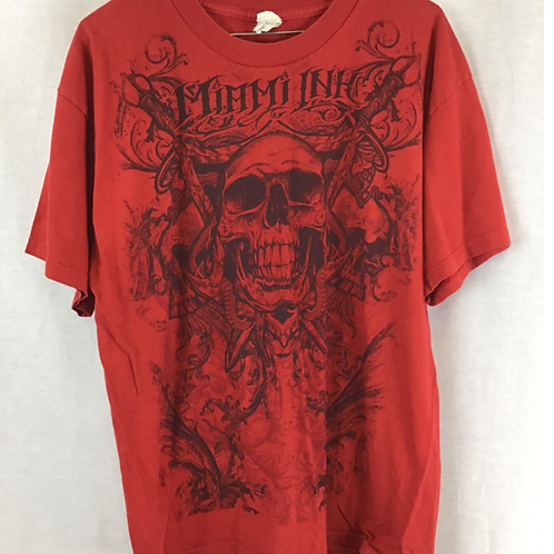Men's Shirt Sleeve Shirt, size large