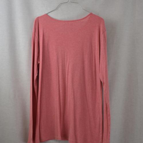 Womens Long Sleeve Shirt, Size XL