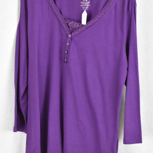 Womens Long Sleeve Shirt - Size XL