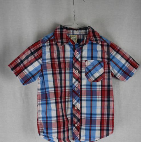 Boys Short Sleeve Shirt - Size XS 4/5