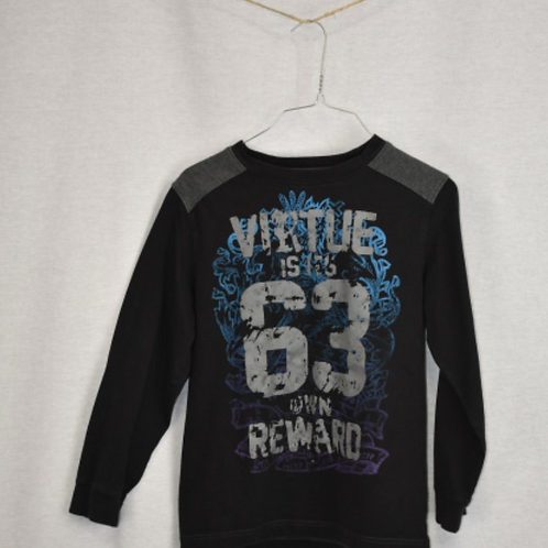 Boys Long Sleeve Shirt, Size M (10/12)