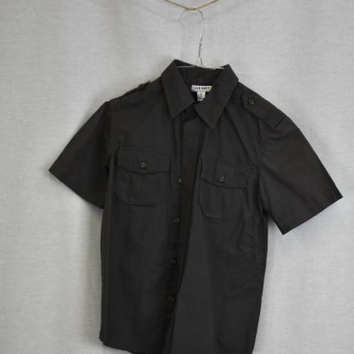 Boys Short Sleeve Shirt, Size M