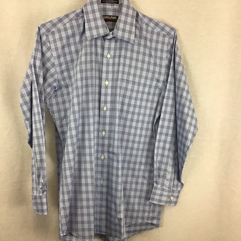 Mens Long Sleeved Shirt Size 15