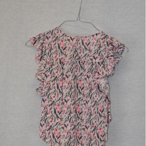 Girls Short Sleeve Shirt - Size M