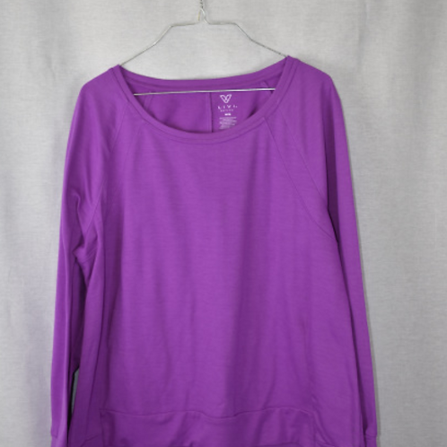 Womens Long Sleeve Shirt - L 14/16